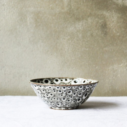 side bowl Ⅱ - white leopard