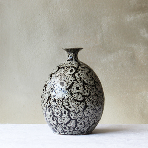 vase - gray leopard [sold out]