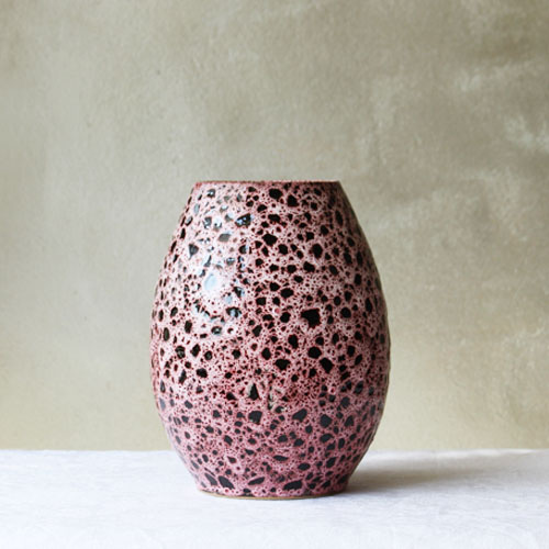 vase - pink leopard [sold out]