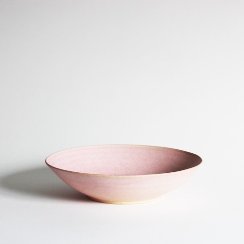 bowl (21.5cm) - milky pink [sold out]
