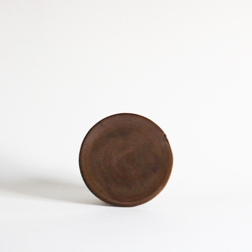 plate (14.2cm) - cocoa [sold out]