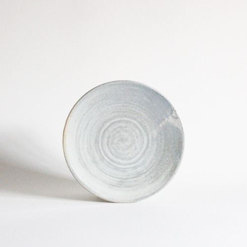 plate (19.7cm) - light gray [sold out]
