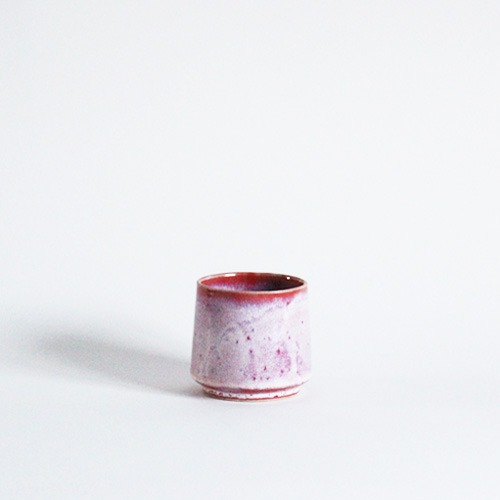 cup - white redⅡ
