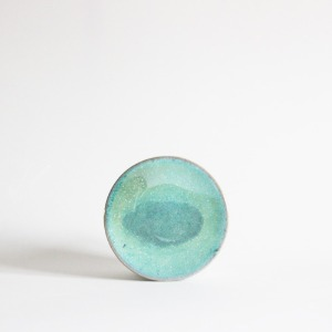 plate (13cm) - jade [sold out]