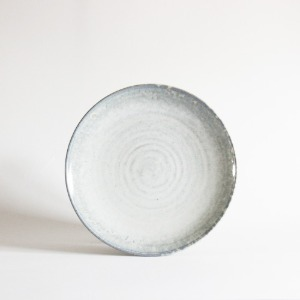 plate (24.4cm) - light gray [sold out]